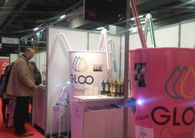 Gloo Concept au salon Heavent de Paris - communication événementielle