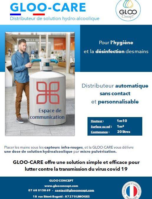Découvrez notre nouveau produit : La GLOO-CARE